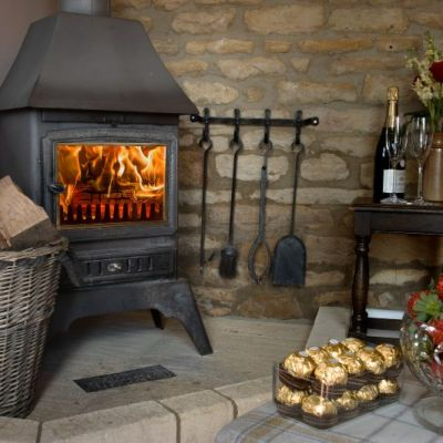 Cosy evenings by the wood burner